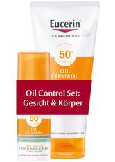 EUCERIN - Eucerin SUN OIL CONTROL SET LSF 50+ - Sonnencreme