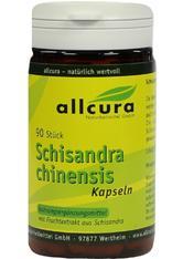 allcura Naturheilmittel Produkte Schisandra Kapseln Nahrungsergänzungsmittel 90.0 pieces