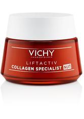 VICHY - Vichy Produkte Vichy Produkte VICHY LIFTACTIV Collagen Specialist Nacht Creme Nachtcreme 50.0 ml - Nachtpflege