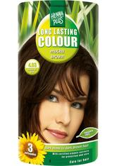 HENNA PLUS - Henna Plus Long Lasting Colour 4,03 Mocha Brown - HAARFARBE