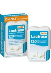 NATURA - LACTRASE 6000 FCC Tabletten im Klickspender - Abnehmen