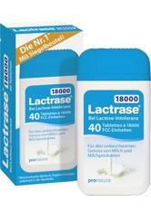 Lactrase 18000 FCC Tabletten im Spender