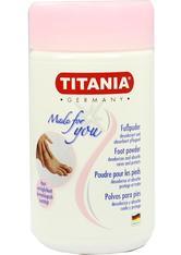 Titania Foot Care Fuß Puder 100 g