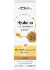 MEDIPHARMA COSMETICS - medipharma cosmetics Hyaluron Sonnenpflege Gesicht LSF 50 Sonnencreme  50 ml - SONNENCREME