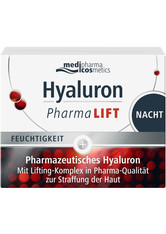 MEDIPHARMA COSMETICS - medipharma cosmetics Hyaluron PharmaLIFT  Nachtcreme  50 ml - Nachtpflege