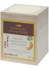 allcura Naturheilmittel Produkte KOREANISCHER Ginseng Extrakt Nahrungsergänzungsmittel 50.0 g