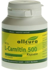 ALLCURA NATURHEILMITTEL - L-CARNITIN KAPSELN 500 - WOHLBEFINDEN