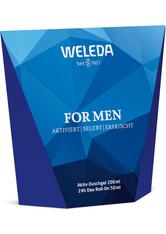 Weleda Produkte Men - Geschenkset Dusche + Deo Roll-On Geschenkset 1.0 pieces