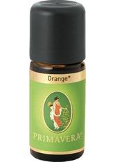 PRIMAVERA - Primavera Health & Wellness Ätherische Öle bio Orange bio 10 ml - KÖRPERCREME & ÖLE