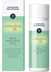 HILDEGARD BRAUKMANN - HILDEGARD BRAUKMANN HYALURON SUN RELAX TAGES CREME SPF 30 - SONNENCREME