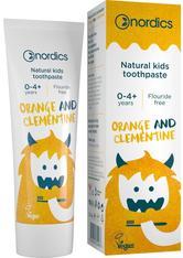 Zahnpasta Kids Orange Clementine ohne Fluor Nordics