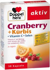QUEISSER PHARMA - DOPPELHERZ Cranberry+Kürbis Kapseln - WOHLBEFINDEN