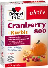 Doppelherz Cranberry+Kürbis 800