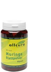 allcura Naturheilmittel Produkte Moringa Blattpulver Kapseln Nahrungsergänzungsmittel 49.0 g