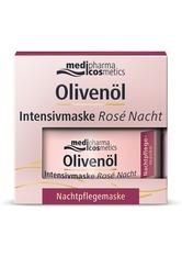 medipharma Cosmetics Produkte Medipharma Cosmetics  Olivenöl Intensivmaske Rose Nacht Feuchtigkeitsmaske 50.0 ml