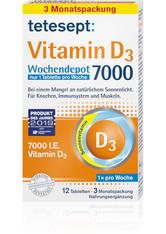 Tetesept Vitamin D3 7.000 Wochendepot Filmtabl.