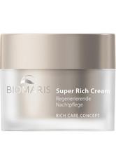 BIOMARIS - BIOMARIS Produkte BIOMARIS Produkte BIOMARIS Super Rich Cream ohne Parfüm Anti-Aging Produkte 50.0 ml - Tagespflege