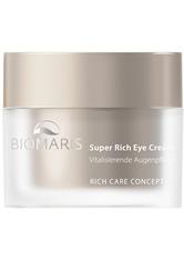 BIOMARIS Produkte BIOMARIS Super Rich Eye Cream ohne Parfüm Anti-Aging Produkte 15.0 ml