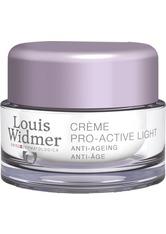 LOUIS WIDMER - WIDMER Creme Pro-Active Light unparfümiert - TAGESPFLEGE