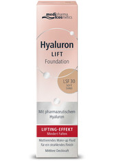 MEDIPHARMA COSMETICS - medipharma cosmetics Hyaluron Lift LSF30 Flüssige Foundation  30 ml Soft Sand - Foundation