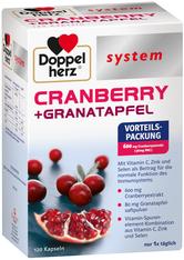 BI-OIL - DOPPELHERZ Cranberry+Granatapfel system Kapseln - WOHLBEFINDEN