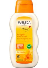 Weleda Calendula Kinderpflege WELEDA CALENDULA BABY Pflegeöl parfümfrei,200ml Körperöl 200.0 ml