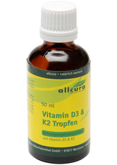 allcura Vitamin D3 & K2 Tropfen 50 ml