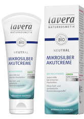 Lavera Basis Sensitiv Gesichtspflege Neutral Mikrosilber Akutcreme 200 ml