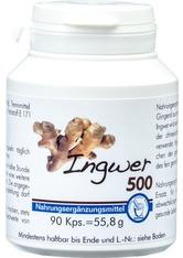 PHARMA PETER - INGWER 500 Kapseln - WOHLBEFINDEN