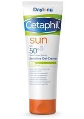 CETAPHIL - Cetaphil Produkte Cetaphil Sun Daylong SPF 50+ sensitive Gel-Creme,200ml Sonnencreme 200.0 ml - Sonnencreme