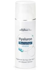 medipharma Cosmetics Produkte Medipharma Cosmetics HYALURON TAGESPFLEGE legere Creme im Tiegel Gesichtscreme 50.0 ml