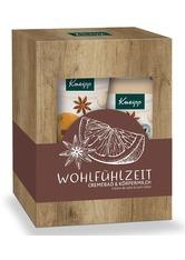 Kneipp Körperpflege & Peeling Cremebad Wohlfühlzeit 400 ml + Körpermilch Wohlfühlzeit 175 ml 1 Stk. Geschenkset 1.0 st