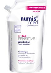 NUMIS MED - numis med Sensitive ph 5.5 Nachfüllbeutel Reinigungslotion  1000 ml - Duschen & Baden