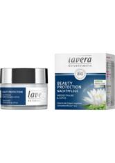 LAVERA - lavera Produkte Beauty Protection - Nachtpflege 50ml Nachtcreme 50.0 ml - NACHTPFLEGE