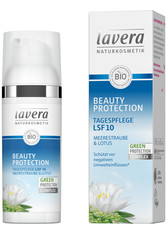 LAVERA - lavera Produkte Beauty Protection - LSF10 Tagespflege 50ml Gesichtscreme 50.0 ml - TAGESPFLEGE