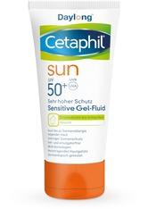 Cetaphil Produkte Cetaphil Sun Daylong SPF 50+ Sensitive Gel-Fluid Gesicht Sonnencreme 50.0 ml