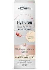 medipharma Cosmetics Produkte Medipharma Cosmetics Hyaluron Nude Perfection getönt. Fluid LSF 20 sehr hell Gesichtscreme 50.0 ml