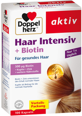 BI-OIL - Doppelherz aktiv Haar Intensiv + Biotin - Haut- und Haarvitamine