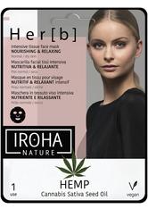 Iroha Nourishing & Relaxing Tissue Mask Hemp