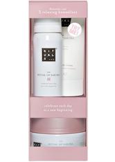 RITUALS - Rituals Rituale The Ritual Of Sakura Try Me Set Foaming Shower Gel 50 ml + Body Scrub 125 g + Body Cream 70 ml 1 Stk. - DUSCHEN & BADEN