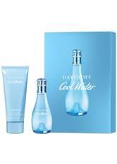 Aktion - Davidoff Cool Water Woman Geschenkset (EdT30/BL75) Duftset