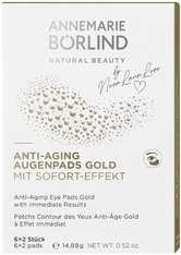 Annemarie Börlind - Anti-Aging Augenpads Gold Mit Sofort-Effekt - Augenmaske - 6 Stück -