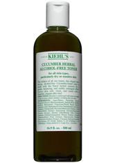 Kiehl's Gesichtspflege Ölfreie Hautpflege Cucumber Herbal Alcohol-Free Toner 500 ml