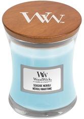 WoodWick Seaside Neroli Hourglass Duftkerze  85 g