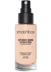 Smashbox Studio Skin 24 Hour Wear Hydra Flüssige Foundation  30 ml Nr. 0.2 - Very Fair With Warm, Peachy Undertone