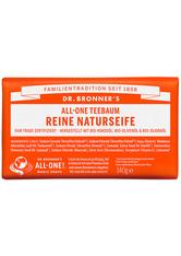 Dr. Bronner's Pflege Körperpflege All-One Teebaum Reine Naturseife 140 g