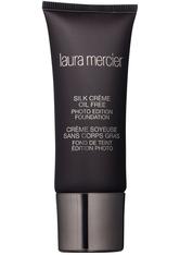 LAURA MERCIER - Laura Mercier Silk Crème Oil Free Photo Edition Foundation 30ml 3C1 Dune (Light/Medium, Neutral) - FOUNDATION