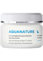 Annemarie Börlind - Aquanature Feuchtigkeitsspendende Nachtcreme - Nachtcreme - 50 Ml -