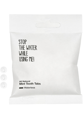 STOP THE WATER WHILE USING ME! Zahnpasta All Natural Waterless Tooth Tabs Zahnpasta 90.0 pieces