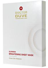 DOCTOR DUVE - Doctor Duve Glowskin Brightening Sheet Mask - MASKEN